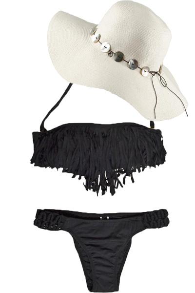 despi black fringe bikiniNEW Summer Styles for the Beach  Haute in Miami   a lifestyle wNuAIrLn