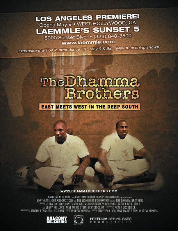 dhamma brothers documentaryMovie Review  The Dhamma Brothers    Making the Movie i7ZnwEDJ