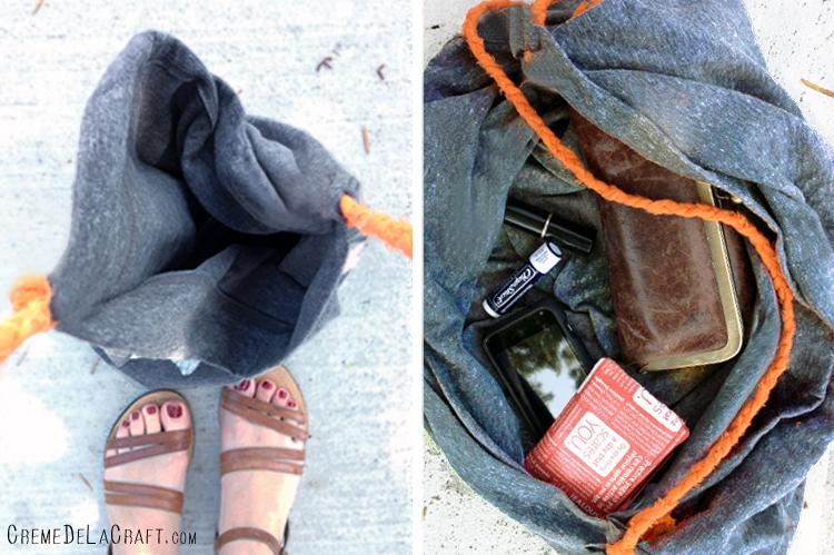 diy bag tutorialDIY  No Sew Tote Bag From A Pillowcase GTsthWaw