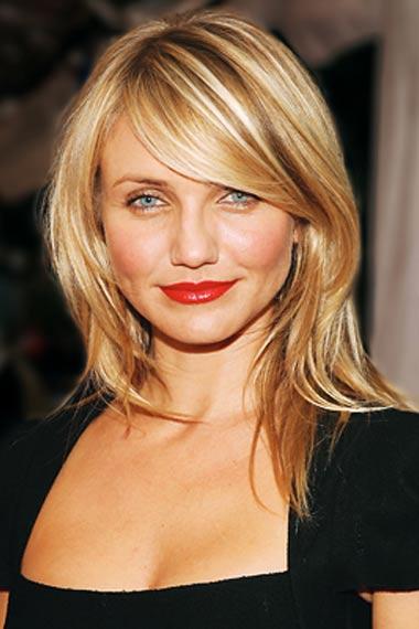 does having side swept fringe bangs good for a round faceBest Bangs Hairstyles Inspired From Celebrity EobvvDkC