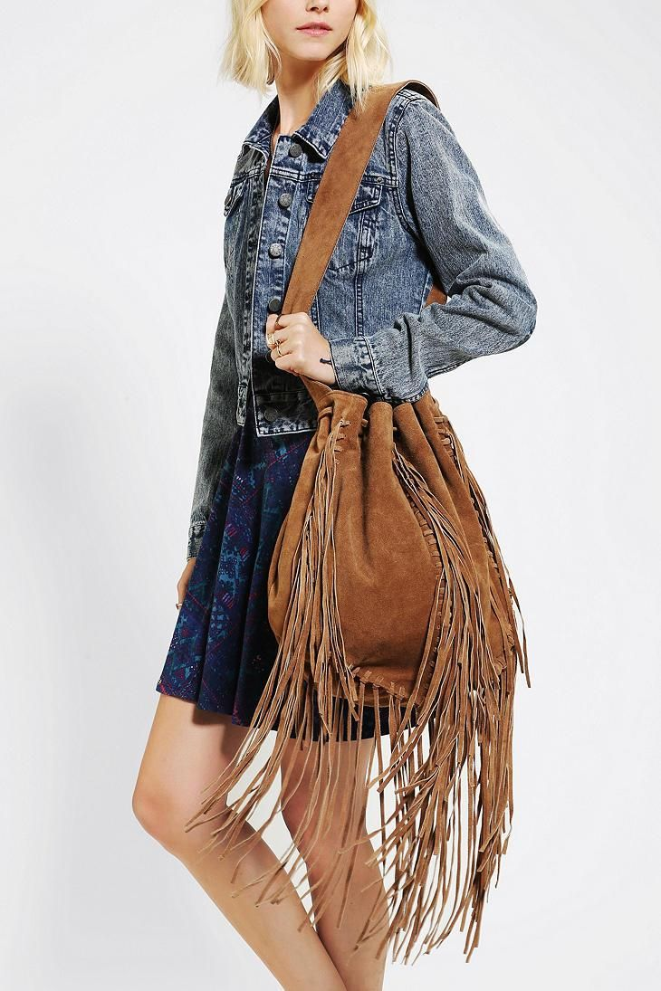 ecote suede fringe bagPin by The Rams Head Group on ROCK STAR GARB Pinterest c4UsliBT