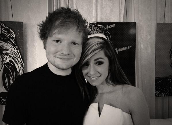 ed sheeran and christina grimmie youtubeChristina Grimmie Performs With Ed Sheeran On The Teen Beat GNZL2DRh