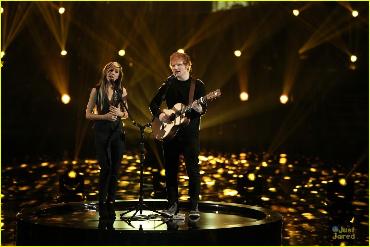 ed sheeran christina grimmie the voiceChristina Grimmie Ed Sheeran Perform Together on The Voice tonGNTQJ