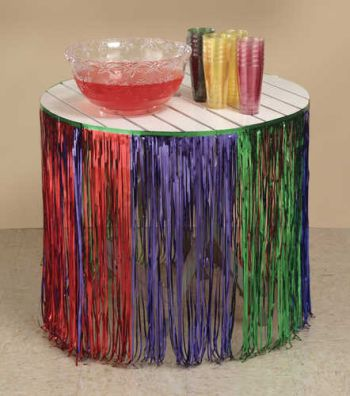 fiesta fringe table skirtsTable Skirts   Party at Lewis Elegant Party Supplies Plastic Jo2cCfg8