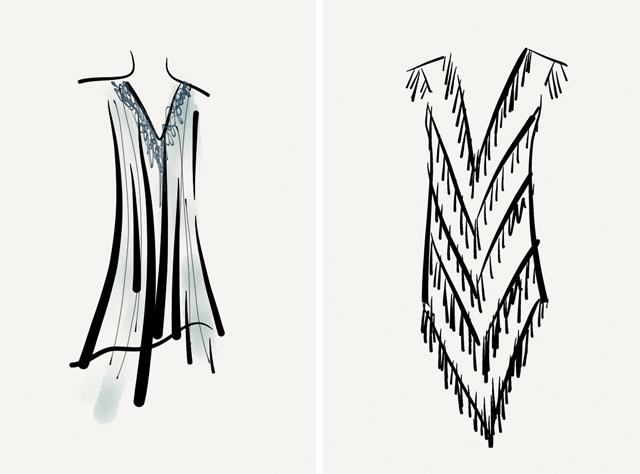 flapper fringe dress patternJillian Undercover  TUTORIAL  QUICK AND EASY 1920s FLAPPER DRESS L8pCg0vI