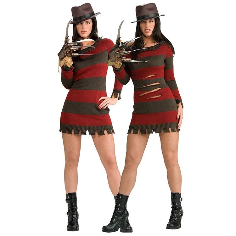 freddy krueger female costumeMs Freddy Krueger Sexy Costume TotallyCostumescom Blog nuv9DwsU