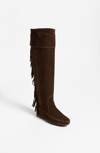 fringe bag nordstrom shoes and bootsMinnetonka Over the Knee Fringe Boot Nordstrom t7TL870U