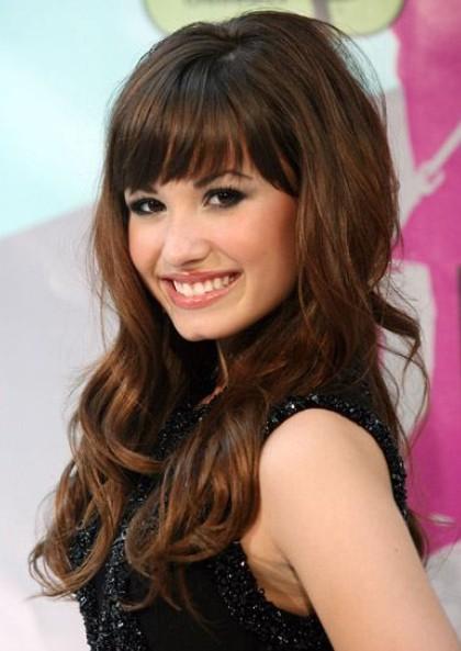 fringe bangs 2012Adnas Beauty Blog  Best Fringe  hairstyle 2012 2WXWUNkF