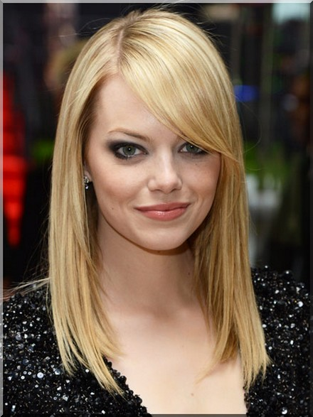 fringe bangs best haircuts for round face shapesThe Best Bangs for Your Face Shape Z4q1HfWM