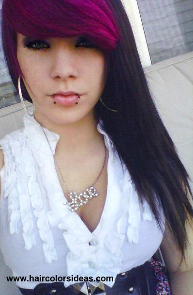 fringe bangs dark auburn hairrofl lolcom    Brown Hair With Red Fringe 2TsFXi2O