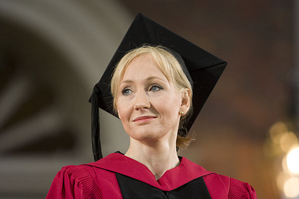 fringe benefits of failureText of JK Rowlings speech Harvard Gazette KnfNDBxG