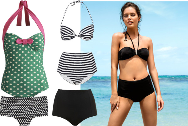 fringe bikini top two piece swimsuits with high waist bottomsKrisztina Williams  The Top Womens Swimsuit Trends for Summer 2013 UO3BfX0Q