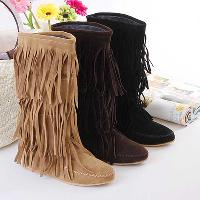 fringe boots wholesaleWholesale Flat Fringe Boots   Buy Cheap Flat Fringe Boots from P8PaFU10