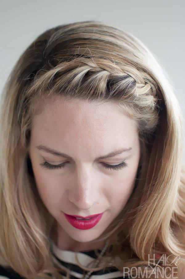 fringe braided hairstyles tumblrHair Inspirations  Pretty French Braided FringeBangs     Hair um2UBMuV