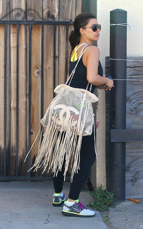 fringe chanel purse amazonKim Kardashian Carries Chanel Crochet Fringe Bag UpscaleHype ADIVWIvC