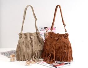 fringe cheap wholesale purses and handbagsDiscount China Wholesale HOT Faux Suede Fringe Tassel Shoulder Bag 3LyN6S45
