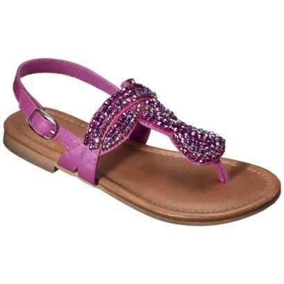 fringe cherokee sandals targetGirls Cherokee   Florence Sandal   Pink   Target BpUEOmE0