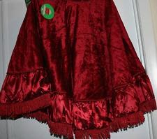 fringe christmas tree skirts uktree skirt gold eBay PwyDqteT