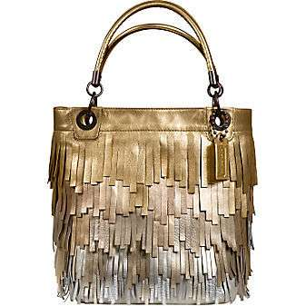 fringe coach purse amazonCoach Official Site   MADISON METALLIC FRINGE TOTE ThisNext Nx99GR1n