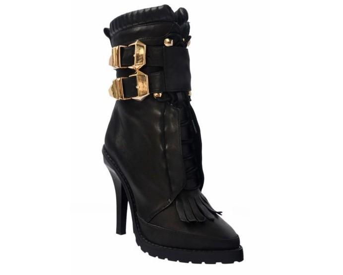 fringe combat boots with high heelsALEXANDER WANG Lara high heel leather combat boots    32599 UgQRyGXd