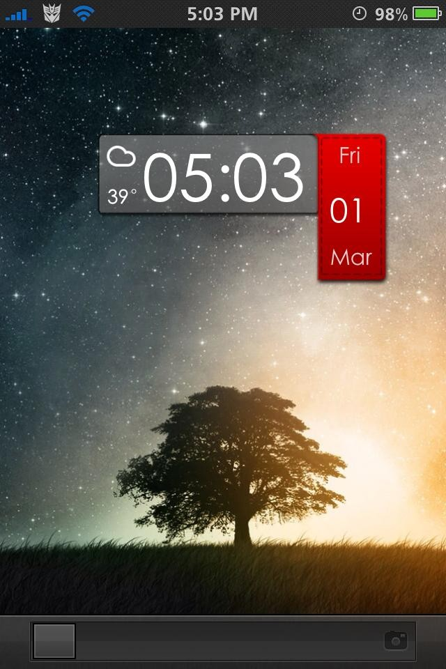 fringe cool lockscreen theme for iphone5 Cool iPhone 54S Winterboard Theme Ideas Using Favorite Cydia 7dT3IMci