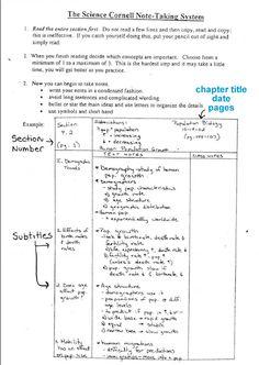 fringe cornell notes science examplesChemistry   Biology on Pinterest 33 Pins wkElgRh1