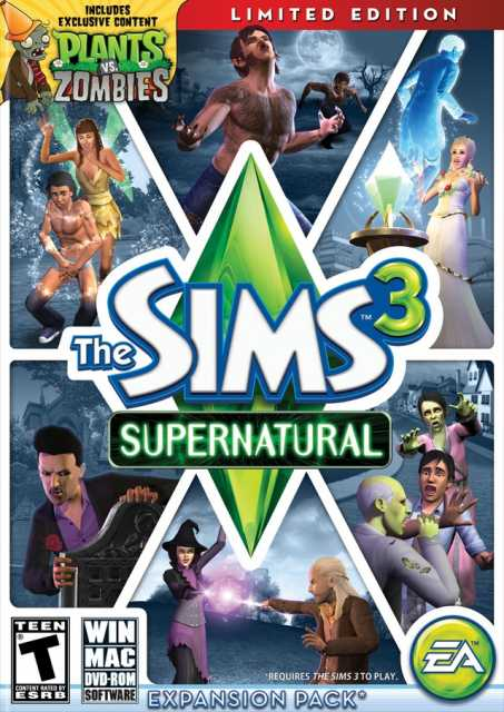 the sims 3 supernatural torrentDownload The Sims 3  Supernatural Limited Edition Torrent BxHGIhJC