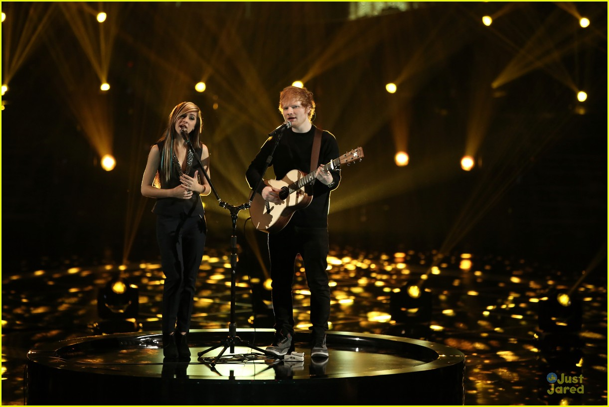 the voice christina grimmie and ed sheeranChristina Grimmie Ed Sheeran Perform Together on The Voice EhaswvOo