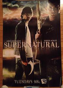 wb supernatural postersSupernatural WB Poster Jared Padalecki Jensen Ackles CW eBay pGqrpwcE