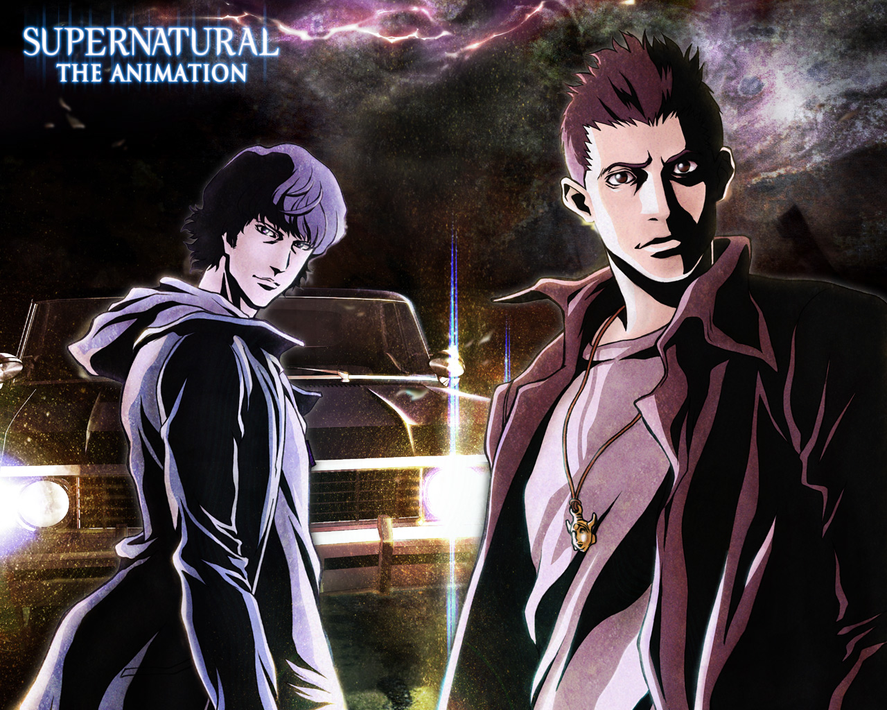 what is a good supernatural animeJapan   Its A Wonderful Rife  Supernatural  The Animation auvQZrHx