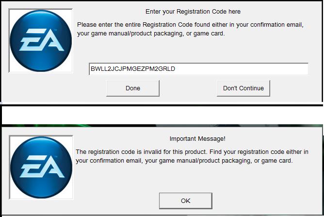 whats the sims 3 supernatural serial codeRe enter Registration Code coM4La8U