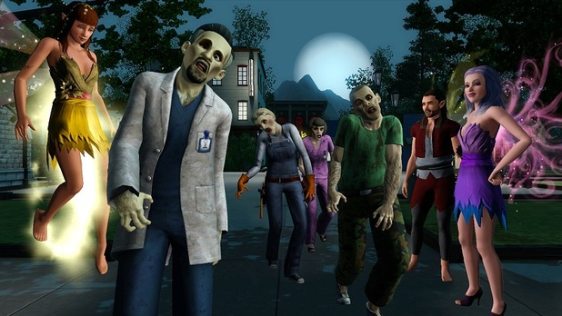 when is the sims 3 supernatural release dateA closer look at the zombies and fairies in The GameZone JDXrdpCe