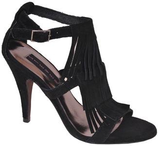 womens black fringe sandalsSteven by Steve Madden   Bijoux   Black Suede Fringe Sandal at X8LLeIB1