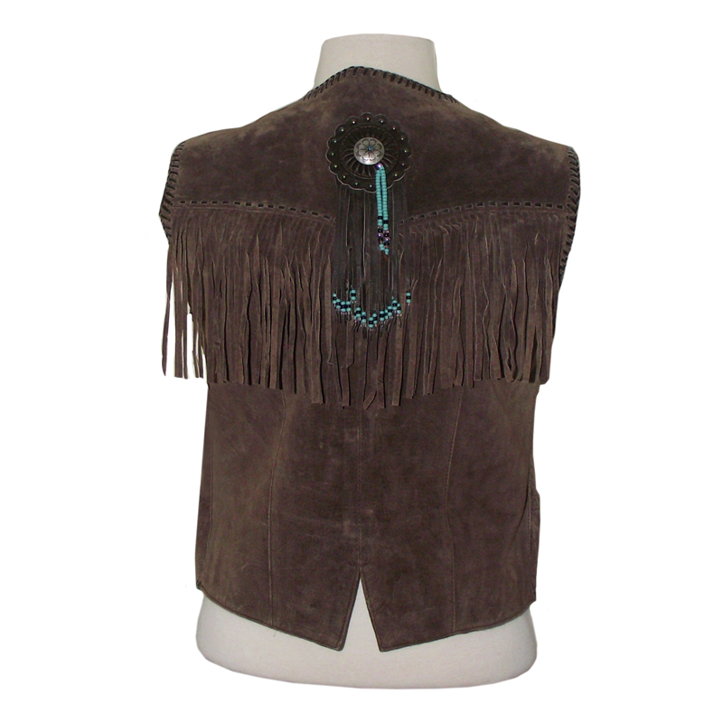 womens western fringe vestsWestern Womens Suede Fringe Vest in Brown   Womens Vests k8ST9Sv5