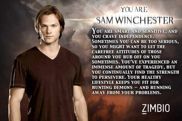zimbio supernatural quizSam Winchester   Which Supernatural Character Are You    Zimbio 2oOJpvE7